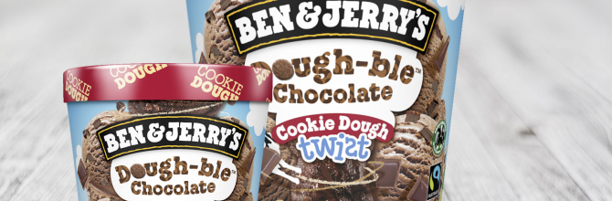 Ben & Jerry's Dough-ble Chocolate