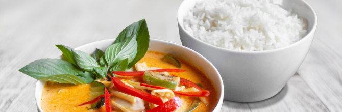 Wok Kokosmilch Curry (Gäng Phet)