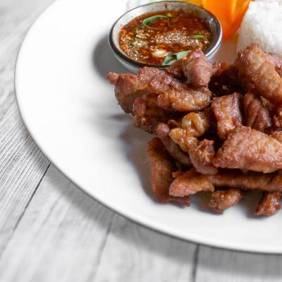 Getrocknetes Fleisch (Mhu Däd Diew)
